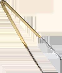 8″ Straight Brass Dividers