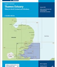 Imray Chart C1 Thames Estuary