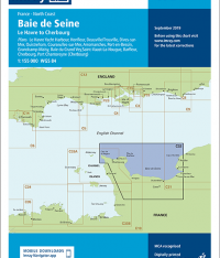 Imray Chart C32 Baie de Seine Le Havre to Cherbourg