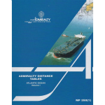 NP350(1) Admiralty Distance Tables Atlantic Ocean Vol 1