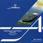 NP350(3) Admiralty Distance Tables Pacific Ocean Vol 3