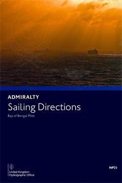 NP21 Admiralty Sailing Directions Bay of Bengal Pilot
