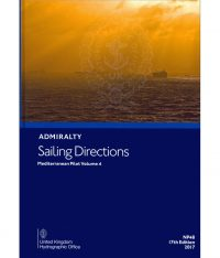 NP48 Admiralty Sailing Directions Mediterranean Pilot Vol. 4