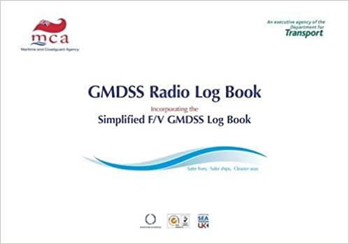 GMDSS Radio Log Book