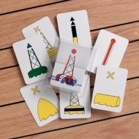 "IALA Buoyage System Flip Cards ""A"""