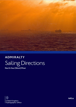 NP54 Admiralty Sailing Directions North Sea (West) Pilot