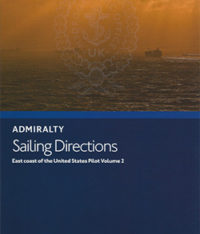 NP69 Admiralty Sailing Directions East Coast of the United States Pilot Vol. 2