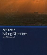 NP42B Admiralty Sailing Directions Japan Pilot Volume 3