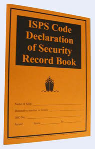ISPS Code Security Declaration Log Book