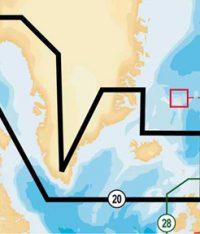 Navionics 20XG Greenland & Iceland