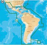 Navionics 3XG Caribbean & South America