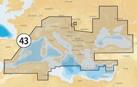 Navionics  43XG Mediterranean & Black Sea