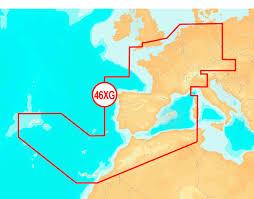 Navionics  46XG Central & West Europe