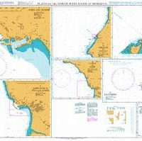 863 – Plans on the North West Coast of Morocco