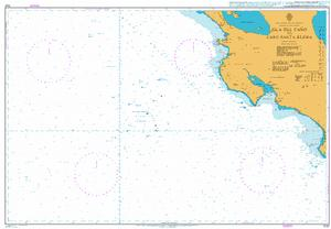 1021 – Costa Rica and Nicaragua, Pacific Ocean Coast, Isle del Cano to Cabo Santa Elena