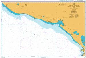 1022 – Central America – Pacific Ocean Coast, Cabo Santa Elena to Champerico