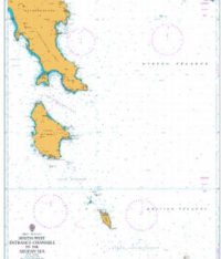 1030 – Greece – South Coast, South-West Entrance Channels to the Aegean Sea