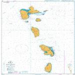 1042 – West Indies Lesser Antilles Montserrat to Saint Lucia