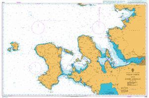 1058 – Greece and Turkey Nisos Chios and Izmir Korfezi