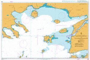 1086 – Greece and Turkey Edremit Korfezi to Strymonikos Kolpos