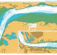 1186 – England East Coast River Thames Canvey Island to Tilbury