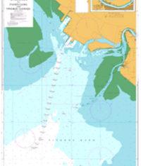 1286 – China Bo Hai Liaodong Wan Approaches to Panjin Gang and Yingkou Gangqu