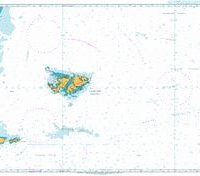 2505 – South Atlantic Ocean Approaches to the Falkland Islands