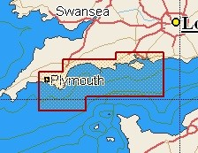 C-Map Local Chart Dartmouth to Southampton
