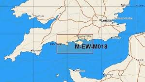 C-Map MAX Local Chart EW-M018 English Channel Central