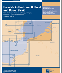 Imray Chart C30 Harwich to Hoek van Holland and Dover Strait