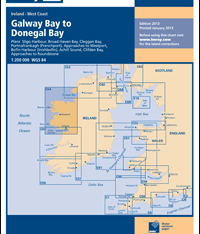 Imray Chart C54 Galway Bay to Donegal Bay