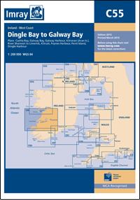 Imray Chart C55 Dingle Bay to Galway Bay