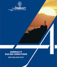 NP51 Admiralty Sailing Directions New Zealand Pilot