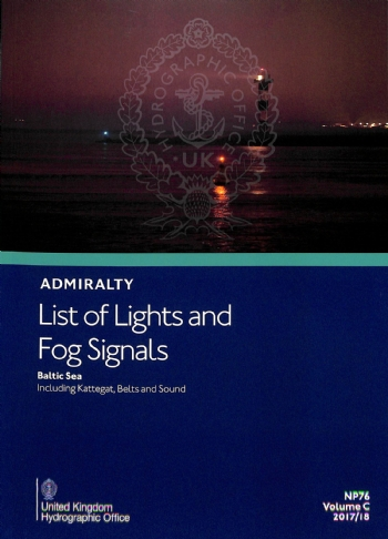 NP76 Admiralty List of Lights & Fog Signals Volume C