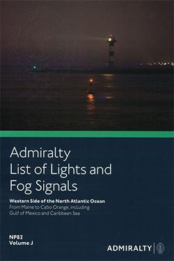 NP82 List of Lights & Fog Signals Vol J