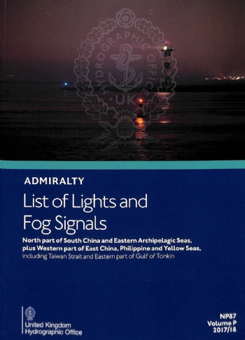 NP87 List of Lights & Fog Signals Vol P