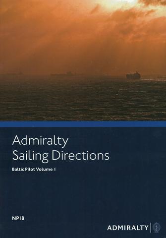 NP18 Admiralty Sailing Directions Baltic Pilot Volume 1