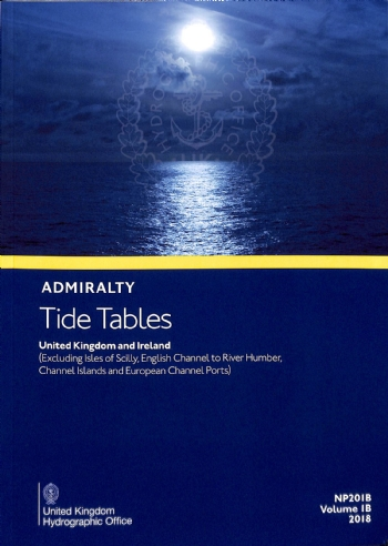 NP201B Tide Tables Vol. 1B 2021