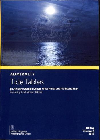 NP208 Tide Tables Vol. 8 2021