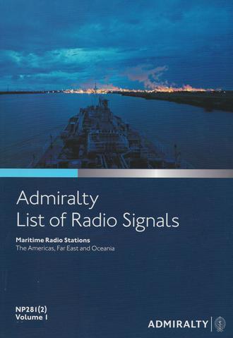 NP281(2) List of Radio Signals Vol. 1 Part 2