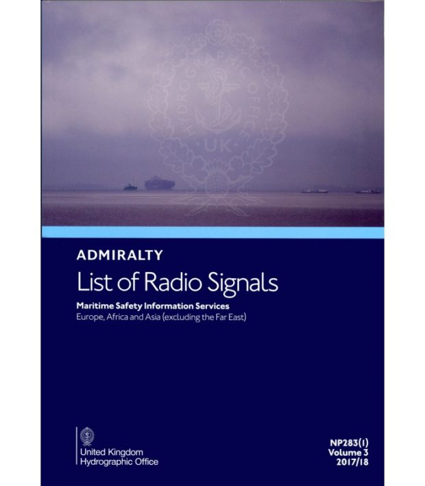 NP283(1) List of Radio Signals Vol. 3 Part 1