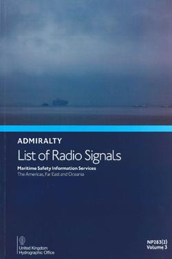 NP283(2) List of Radio Signals Vol. 3 Part 2