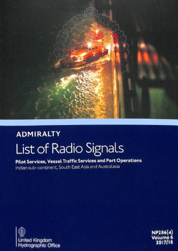 NP286(4) List of Radio Signals Vol. 6 Part 4