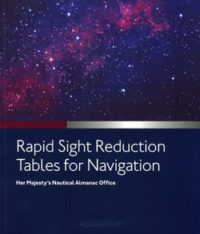 NP303 Admiralty Rapid Sight Reduction Tables for Navigation Vol 1