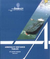 NP350(1) Admiralty Distance Tables – Atlantic Ocean Vol 1