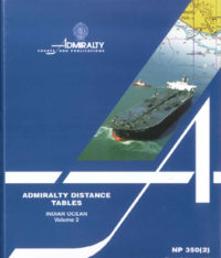 NP350(2) Admiralty Distance Tables – Indian Ocean Vol 2