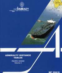 NP350(3) Admiralty Distance Tables – Pacific Ocean Vol 3