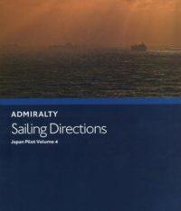 NP42C Admiralty Sailing Directions Japan Pilot Volume 4