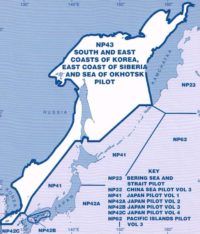 NP43 Admiralty Sailing Directions South and East Coasts of Korea, East Coast of Siberia and Sea of Okhotsk Pilot