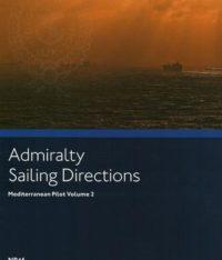 NP46 Admiralty Sailing Directions Mediterranean Pilot Volume 2